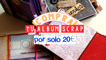 Mini Álbum Scrap - Encargo