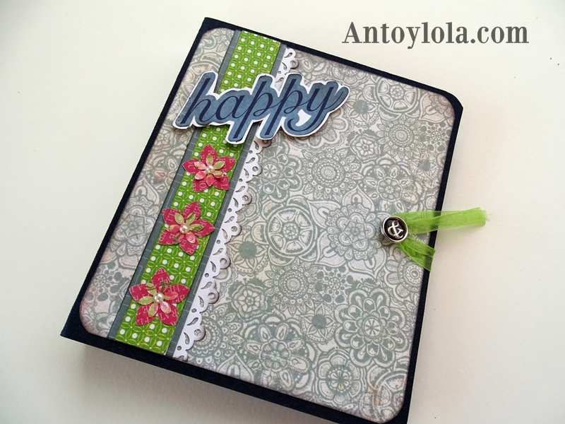 Mini album scrap happy