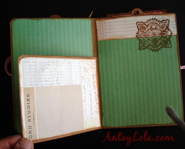 Mini album de recuerdos lovely
