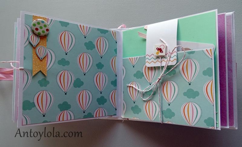 album de bebe regalo para Mia2021